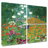 Farm Garden Gallery-Wrapped Canvas