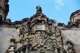 Ornate Facade of San Cayetano Church