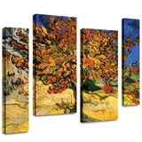 Mulberry Tree 4 piece gallery-wrapped canvas