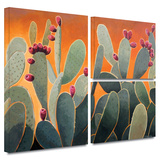 Cactus Orange Gallery-Wrapped Canvas