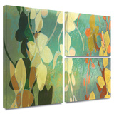 Shadow Florals Gallery-Wrapped Canvas