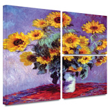 Sunflowers Gallery-Wrapped Canvas