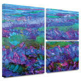 Charlits Floral Gallery-Wrapped Canvas