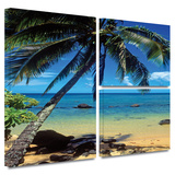 Beautiful Smini Beach Gallery-Wrapped Canvas