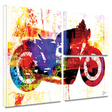 Moto III Gallery-Wrapped Canvas
