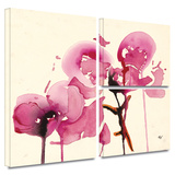 Orchids I Gallery-Wrapped Canvas