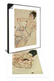 Nursing Mother (Stephanie Gruenwald) 1917 & Kneeling Female Semi-Nude  1917 Set