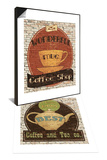 Best Coffee and Tea & Wonderful Coffee Shop Set