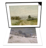 Environs de Honfleur  neige & Vue de plaine a Argenteuil  coteaux de Sannois Set