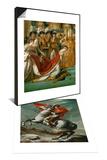 Napoleon Crossing the Saint Bernhard Pass & Coronation of Napoleon in Notre-Dame De Paris Set