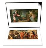 The Wedding at Cana (With Veronese's Self-Portrait) & Christ and the Samaritan Woman at Well Set