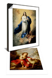 The Infant Saint John the Baptist & Escorial Immaculate Conception Set