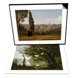 Memory of Mortefontaine  France  1864 & Florence  Seen from the Boboli-Gardens Set