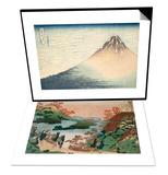 Sarumaru Daiyu & Vent frais par matin clair ou Le Fuji rouge Set