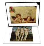 The Three Graces & The Two Angels Set