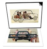 Morris Mini-Minor and Family & See-Through Mini Set