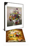 Summer Flowers & A Still Life with Pansies Set