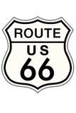 Route 66 Sign Travel Print Poster
