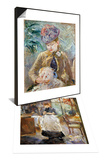 Morisot: Dining Room  1886 & Morisot: Paule Gobillard Set