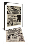 Apollo Theatre Ad & Apollo Theatre Handbill Set