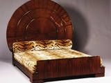 'Lit Soleil' Bed in Macassar Ebony by Jacques-Emile Ruhlmann