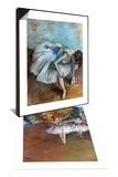 Degas: Dancers  C1877 & Degas: Dancer  1881-83 Set
