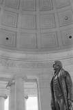 Thomas Jefferson by Rudolph Evans in the Jefferson Memorial