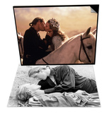 Buttercup and Westley Laying on the Grass & Buttercup and Westley Kissing on Horseback Set