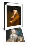 Marie-Antoinette de Lorraine-Habsbourg & Portrait of the Artist in the Guise of a Mockingbird Set