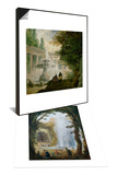 Le Jet D'Eau Du Bosquet Des Muses a Marly & Park with Fountain  1762-1765 Set