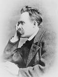 German Philosopher Friedrich Wilhelm Nietzsche Papier Photo