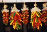 Hanging Chili Peppers