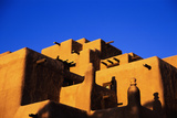 Pueblo and Blue Sky