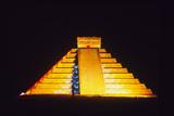 El Castillo Illuminated (Chichen Itza  Mexico)