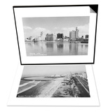 Rainbow Pier and Ocean Blvd  Long Beach  CA & City Skyline View  Long Beach  CA Set