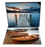 Keswick Launch Boats  Cumbria & Ashness Jetty  Lake District Nat'l Park  Cumbria  England Set