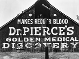 Patent Medicine Sign on A Barn