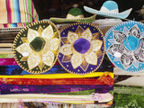 Sombreros and Serapes on Display in Market