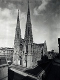 View of St Patrick's Cathedral