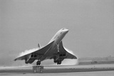 Concorde on First Takeoff from New York