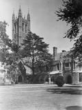 View of Princeton University  Madison Hall