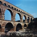 Pont Du Gard Aqueduct in France