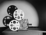 Early Motion Picture Projector