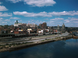 Albany New York Skyline
