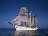 Sailing Ship Esmeralda in Puget Sound