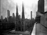 St Patrick's Cathedral  Rooftop View