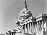 Dome and Portico of US Capitol