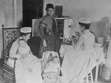 Nurses Caring for Children in Hospital