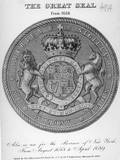 17Th Century Seal of New York