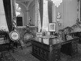 Interior View of Richard Nixon's Office
